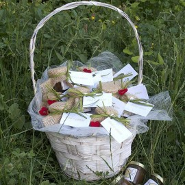 Miel ecológica - Detalle invitados de boda