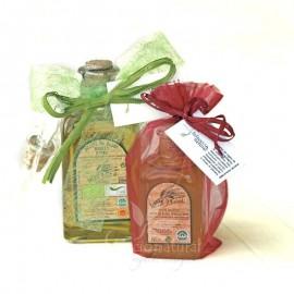 Detalle de Boda: Aceite de oliva virgen extra ecológico 100 ml.
