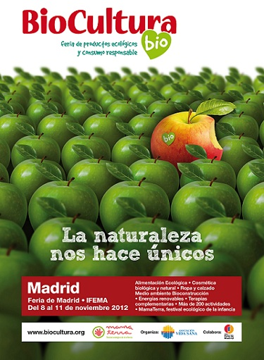 Cartel Biocultura Madrid 2012