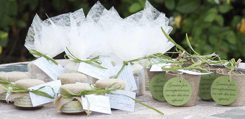 Regalos a domicilio con productos ecol gicos regalos - Detalles para una boda perfecta ...