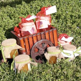 Detalle de Bautizo: miel ecológica