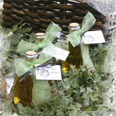 Detalle de bautizo aceite ecologico