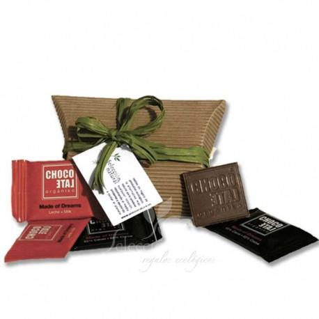 Regalo invitados de Bautizo - chocolatinas