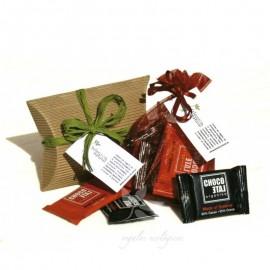 Regalo invitados de Bautizo - chocolatinas ecológicas