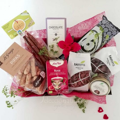 regalo romantico vegan love