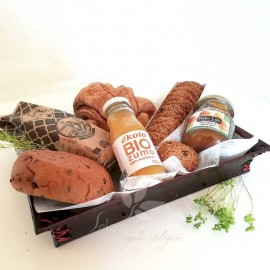 Desayuno ecológico dulce vegano