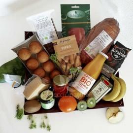 Desayuno brunch ecológico