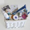 Cesta de cosmética ecológica para la mamá y el bebé