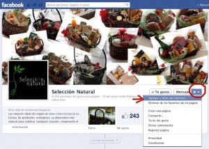 facebook seleccion natural